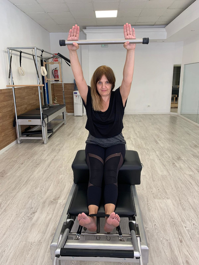 Pilates aparatos Almudena